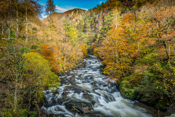 Autumn on Aberglaslyn Pass Beddgelert